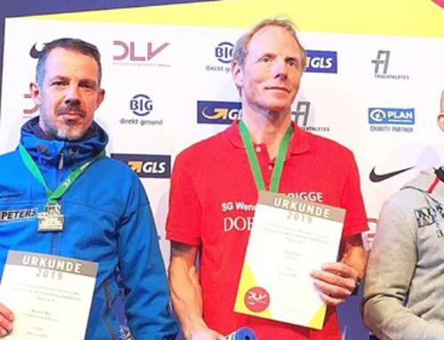 Jörg neuer und alter Deutscher Meister Halbmarathon Freiburg 2019