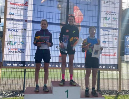 Carmen gewinnt souverän Rothaarsteig Marathon 2021